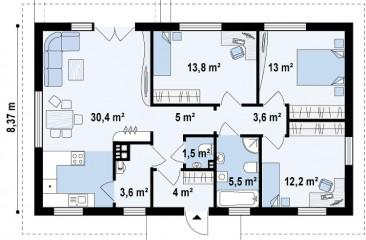 plan 1 etajza