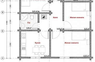 plan pervogo etajza