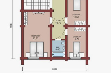 plan 2 etajza