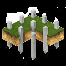 Фундамент на железо-бетонных сваях